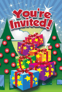 Christmas Trees Invitation
