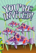 Sea Bass Invitation