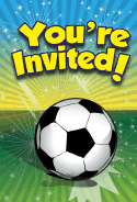 Soccer Invitation