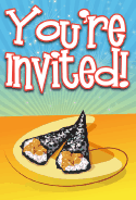 Sushi Tamaki Invitation