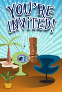 Tiki Furniture Invitation