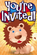 Lion Invitation