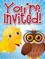 Owl Small Invitation